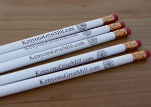 Kenyon's Grist Mill - 5 Pencils (Includes Tax)