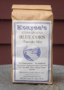Blue Corn Pancake Mix - 24 oz (1.5 Pound) Bag