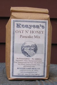 Oat & Honey Pancake Mix - 24 oz (1.5 Pound) Bag