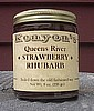 Strawberry Rhubarb Jam  - 9 oz Jar